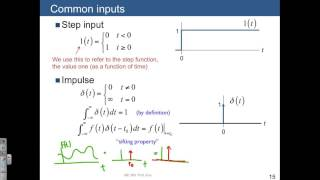 Lecture 02 Impulse function and sifting property