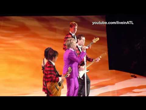 Rod Stewart - Hot Legs & Maggie May - Atlanta 2011
