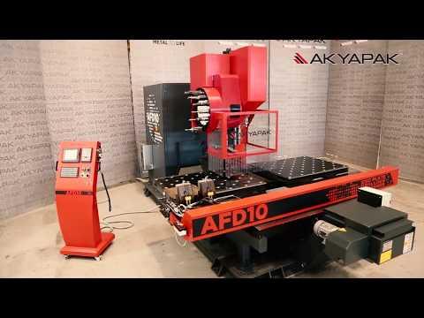 AFD 10 CNC Plate Drilling Machine / CNC Plaka Delme Makinesi