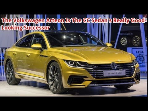the volkswagen arteon is the cc sedan 39 s really good looking successor 2019 vw arteon youtube. Black Bedroom Furniture Sets. Home Design Ideas
