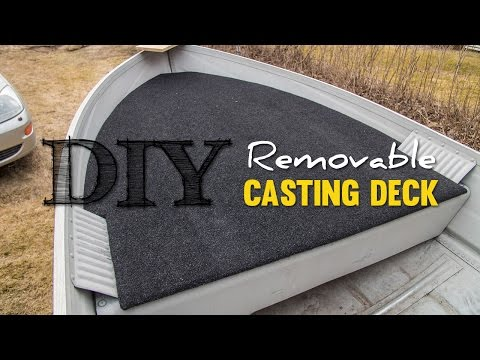 DIY Cheap Removable Casting Deck