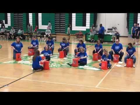 Odenton Elementary School halftime show