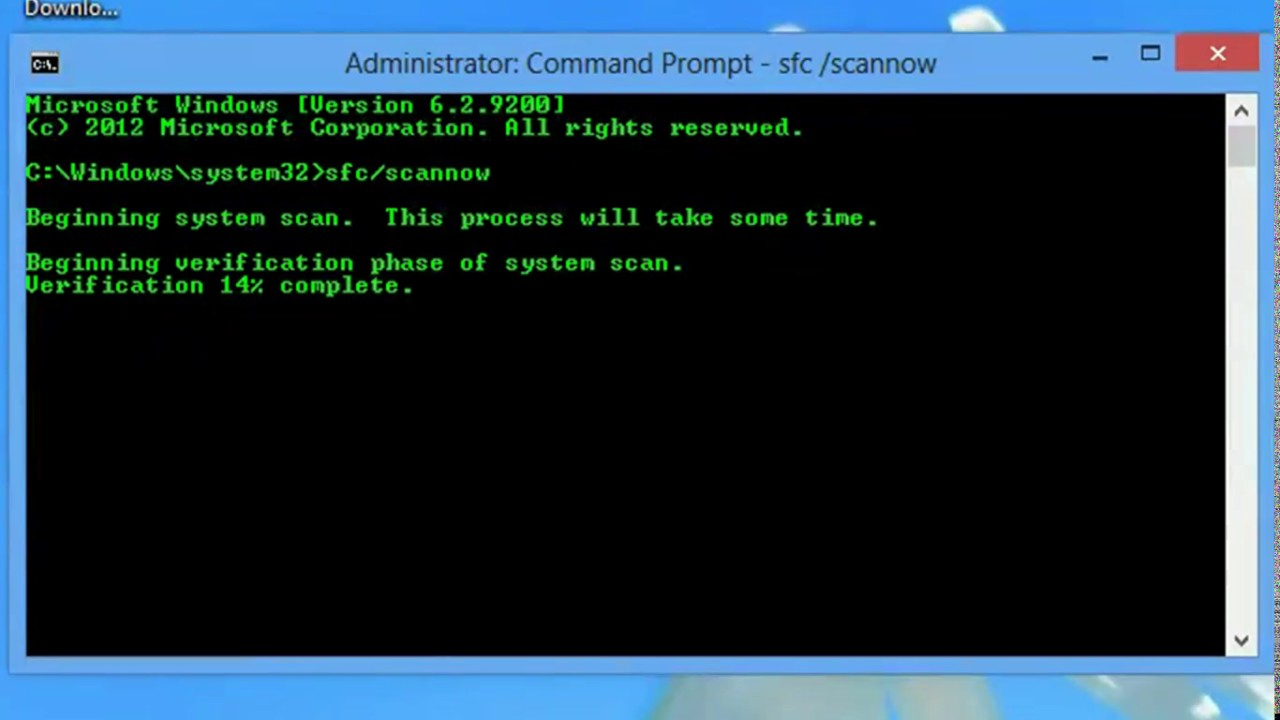 Cara Memperbaiki File Windows Yang Rusak Dengan Cmd Youtube