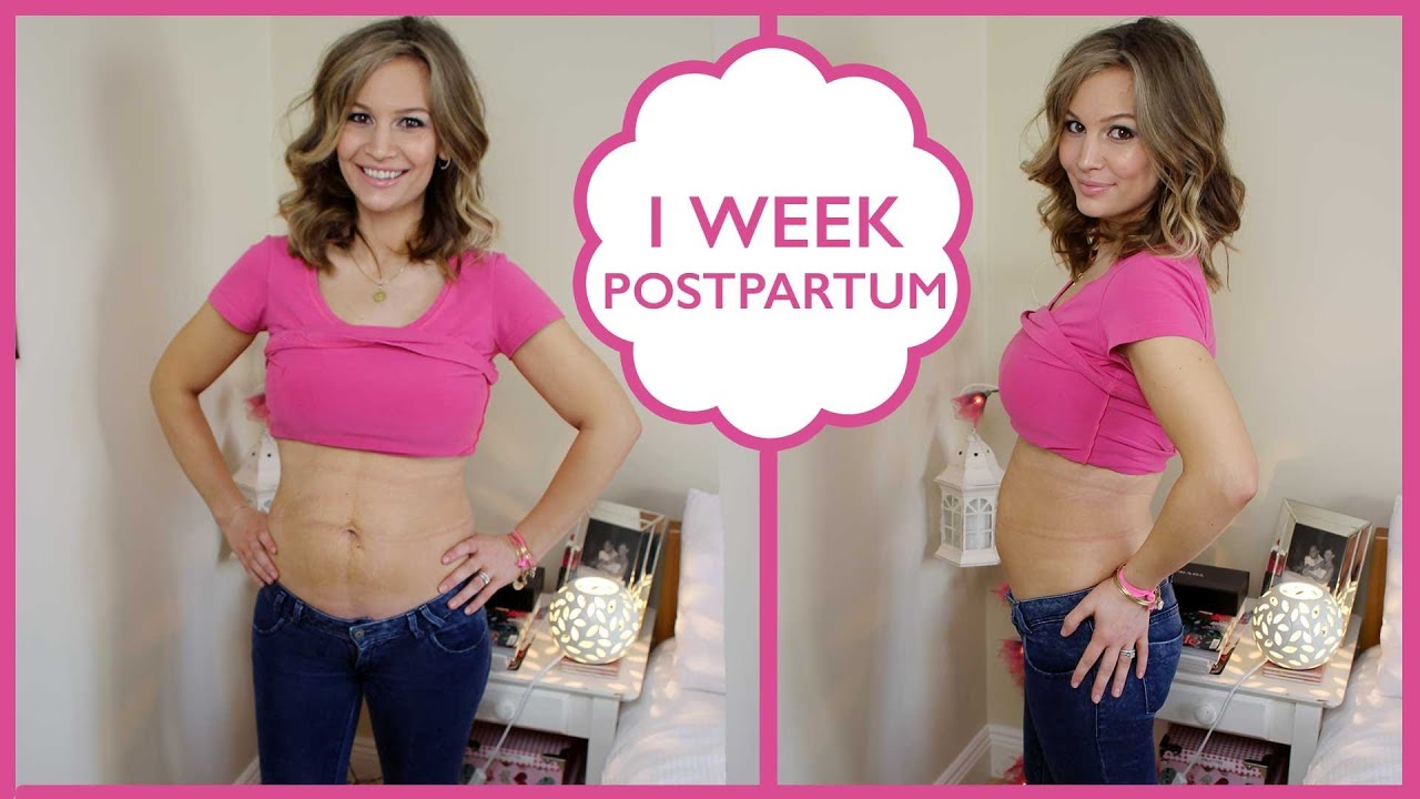 1 Week Postpartum Update Youtube
