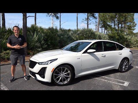 Is the 2021 Cadillac CT5-V a BETTER sport sedan than a BMW M340i?