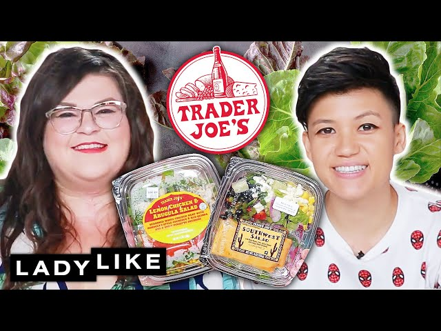 We Tried Every Salad From Trader Joe's • Ladylike