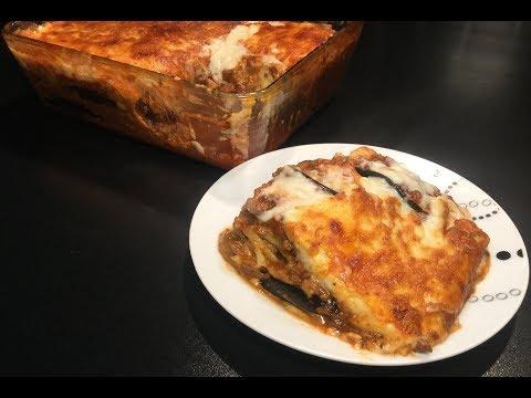 la-moussaka-(-gratin-d'aubergine-et-de-viande-hachée-)
