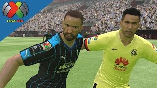 PES 16| America vs Queretaro | Liga MX | Apertura 2015 | J14