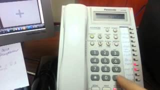 Переадресация звонков KX T7730      koob.kz