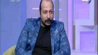 محمد ثروت يكشف سر ضرب صبري فواز له في فيلم كلمني شكرا