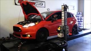 Fiesta ST dyno pumaspeed x-37