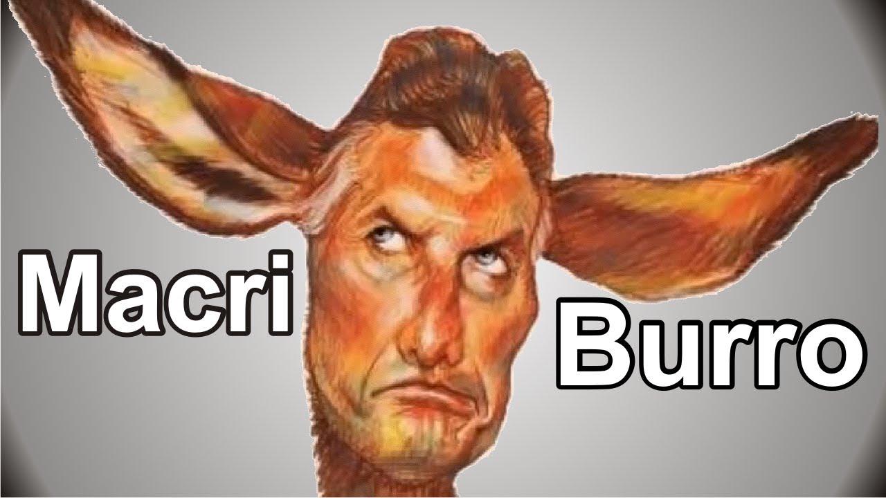 Macri es Burro o se confunde?