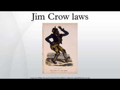The significance of the jim crow laws