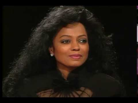 Diana Ross 1993 candid interview discussing her memoirs