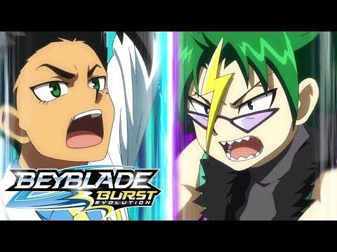 Beyblade Burst Evolution русский | сезон 2 | Эпизод 34 | В полную силу! Пружинистая атака!
