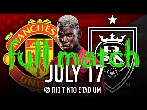 Real Salt Lake vs Manchester United 1 - 2 fullmatch HD Friendly