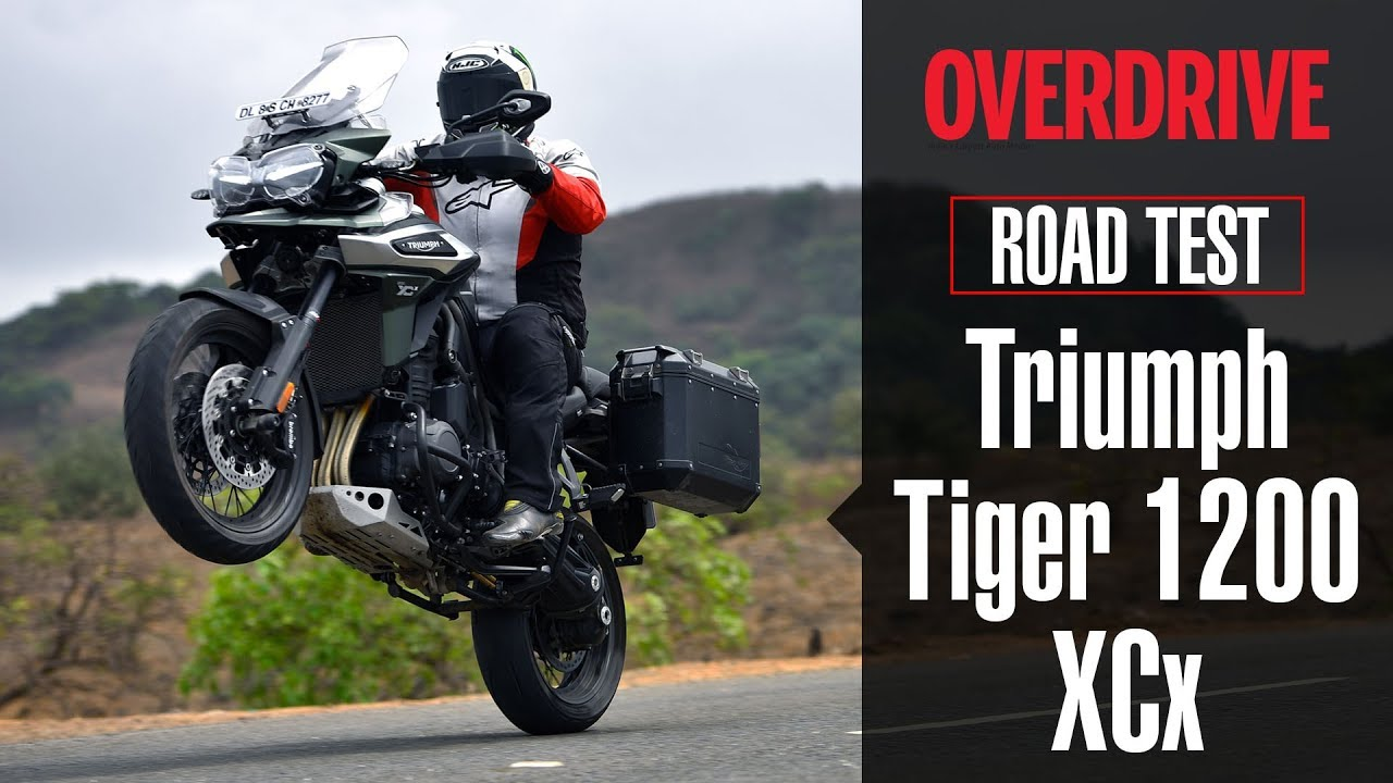 2018 Triumph Tiger 1200 Xcx Road Test Overdrive