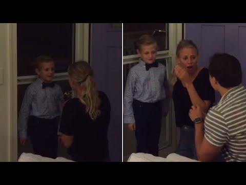 Watch Shy 7-Year-Old Help With Neighbor's Proposal: 'Can I Be Your Ring Berry?'