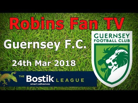 HIGHLIGHTS - Carshalton Athletic vs Guernsey FC 24.03.2018