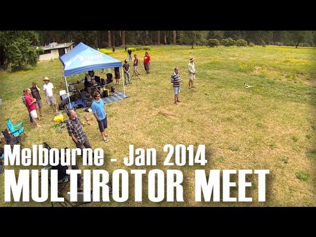 Melbourne Multirotor Meet - January 2014