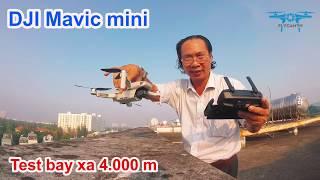 ➤ Flycam DJI Mavic Mini - Nhẹ nhàng chinh phục 4.000 m - Pin còn 75%