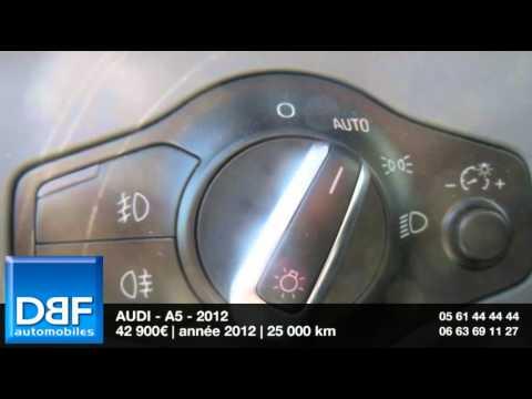 Annonce Occasion AUDI A5 quattro 3.0 V6 TDI 245ch Avus quattro S Tronic 2012