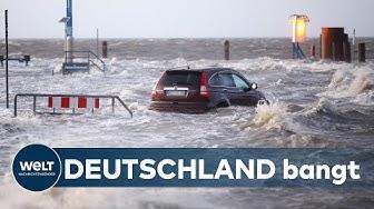 STURM SABINE:  So bereitet Deutschland sich auf den Orkan vor