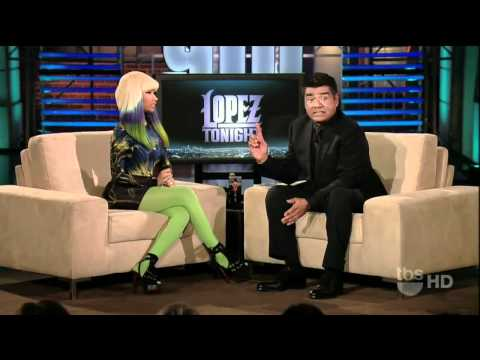 Nicki Minaj - Moment 4 Life & Interview (Live Lopez Tonight HD)