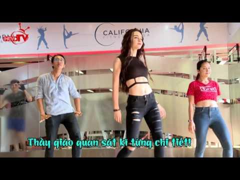 Mlee sexy dữ dội với màn nhảy... sexy dance trong hai phút.