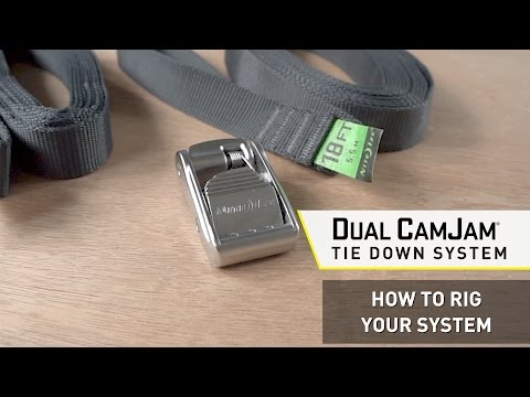 Dual CamJam Tie Down System - How To Rig Your System