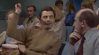 Scary Movies to Swimming in a Pool | Funny Compilation | Classic Mr. Bean