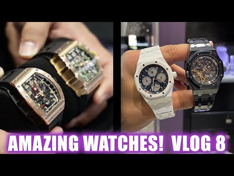 AMAZING WATCHES - AP AND RICHARD MILLE