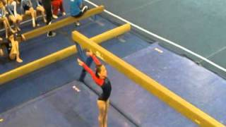 Jessica Foley, Age 8, GTC Level 4 Gymnastics, AirTime Mardi Gras Classic, 03-19-11 Springville, UT