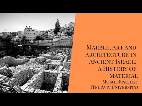 Marble, Art And Architecture In Ancient Israel - Moshe Fischer - (LARP/MAE - USP)