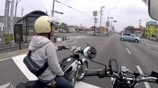 【motovlog】 バンバン200 浜�...