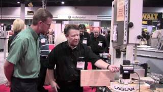 Laguna Tools Bandsaw Resawing Attachments - International Woodworking Fair 2010