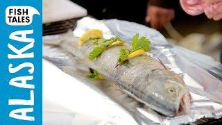 Bbq Yukon Salmon   Bart's Fish Tales