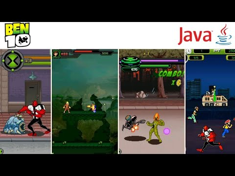 All Ben 10 Games In Java Mobile