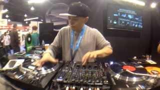 Reloop @ NAMM 2014 - DJ Angelo, Qbert, and Shortkut