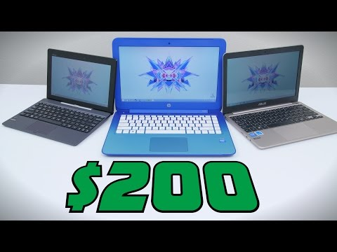 Top 3 Laptops for $200 - 2015