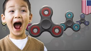 Fidget spinner craze  Fidget spinner mania is spiraling out of control   TomoNews