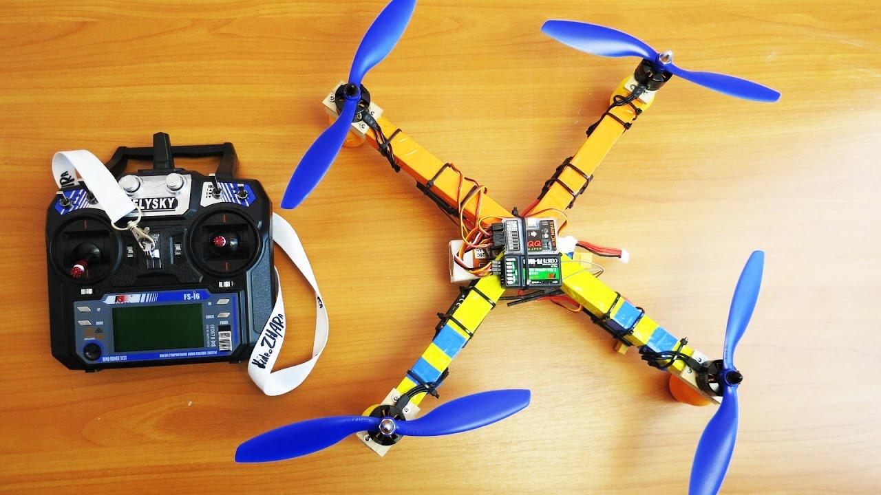 Как сделать квадрокоптер своими руками - Все Сам - сайт о 6