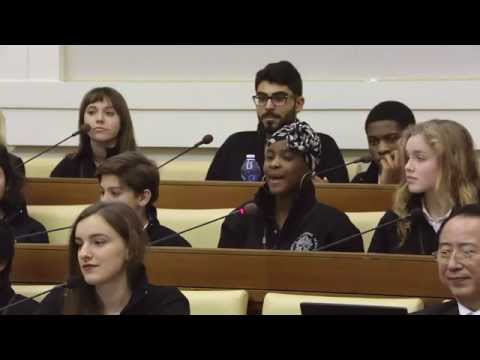 Ross at The Vatican: The Voices of Children and Teenagers on Sustainability and Climate Change
