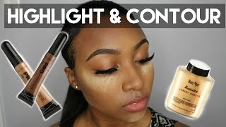 EASY HIGHLIGHT & CONTOUR TALK THROUGH FOR BEGINNERS | Kathryn Bedell