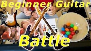 Squire Bullet strat vs Ibanez Gio vs Cort G vs Yamaha Pacifica - electric guitars under $250.