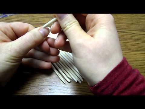 Палочка для маникюра металлическая