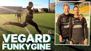 Vegard X Funkygine #31: Fotballtrening med Morten Sundli