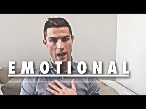 Cristiano Ronaldo ● When A Man Gets Emotional ● Interviews & Speeches
