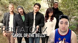Pentatonix - Carol of the Bells REACTION!!!