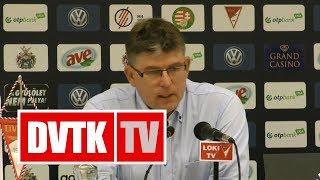 Herczeg András értékelése | DVSC - DVTK | 2018. augusztus 4. | DVTK TV